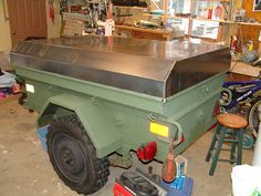 Expedition Trailer, Overland Trailer, Jeep Tent, Off Road Trailer, Car Camper, Camping Stuff, Jeeps, Offroad, Trailers