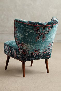 Dhurrie Occasional Chair - anthropologie.com
