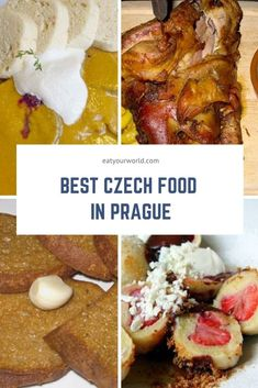 Pub snacks, main dishes, sweets: Try these 10 great Czech dishes in Prague to eat like a born-and-raised local. #prague #czechrepublic #czechfood #praguetrip Food Travel, Travel Ideas, Travel Tips, Prague Food, Czech Recipes, Pub Food, Food Tasting, Czech Republic, Regional