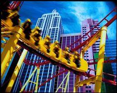 Roller Coaster - New York New York - Las Vegas, Nevada