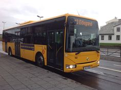 sistema de bus Islandia