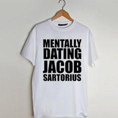 Mentally Dating Jacob Sartorius T shirt