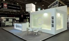 Bespoke Exhibition stand for Robert's Graphic's at Ipex.