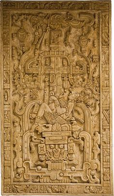 King Pakal Sarcophagus Lid CE) - Temple of the Inscriptions, Palenque, Mexico - Maya, Late Classic Period Ancient Aliens, Ancient History, Art History, Ancient Mysteries, Ancient Artifacts, Maya Art, Maya Civilization, Aztec Culture, Inka