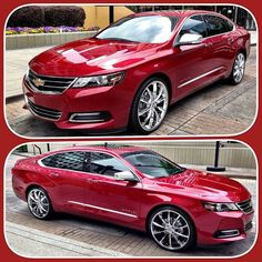 I've never been in love with a car like with this 2014 Chevy Impala. This is my next car!  Totally buying it next year - can't wait!