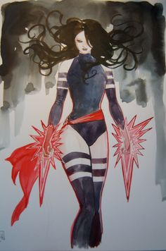 Psylocke by Stephanie Hans *
