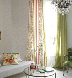 Designers Guild - Fabrics & Wallpaper Collections, Furniture, Bed and Bath, Paint, and Luxury Home Accessories Designers Guild, Living Room Furniture, Home Furniture, Pastel Living Room, Deco Studio, Cool Curtains, Curtain Panels, Interior Decorating, Interior Design