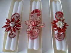 Creations Quilling-Baukje: quilling candles