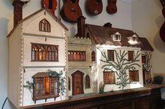Beautiful 1/12th Scale OOAK Vintage Dolls House from Rowen Dolls Houses   eBay