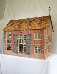 English country inspired doll house by House of Artistique