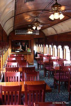First Class Rail Car
