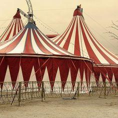 Extraordinary tents.