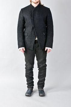 boucle wool blazer — re. porter