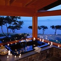 This bath + this view ✔️