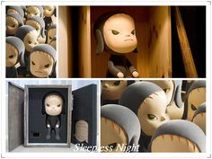 Nara Yoshitomo cute art toy & packaging