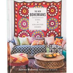 The New Bohemians: Cool & Collected Homes  Book | Furniture