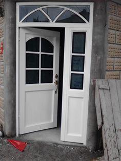 Grill Door Design, Door Gate Design, Door Design Interior, Wooden Door Design, Main Door Design, Home Room Design, Wooden Doors, Front Door With Screen, Front Doors With Windows