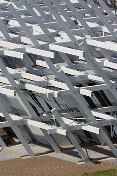 Karlsruhe 300 pavilion by J. Mayer H. architects and Rubner Holzbau