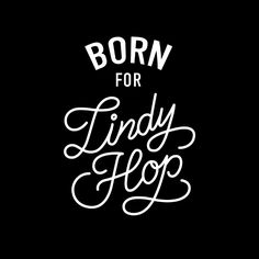 Born For Lindy Hop Art Print