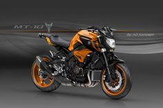 Racing Cafè: Design Corner - Yamaha MT-10 by AD Koncept