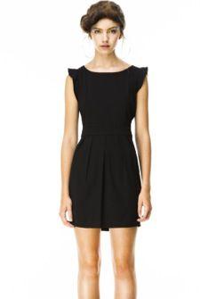 Sayles dress black de Kling