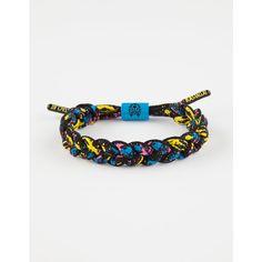 Rastaclat Noble Bracelet ($15) ❤ liked on Polyvore featuring men's fashion, men's jewelry, men's bracelets, mens woven bracelets and mens leather braided bracelets