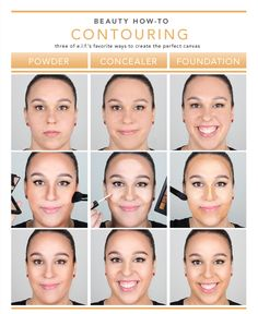 You've been begging to see a how-to on contouring, so here it is! We've got the most basic to the most advanced technique on how to achieve this beautiful affect. Whether you're a powder or liquid girl, there are so many ways to try to contour! Check out the diagram and click through to the blog for the full step-by-step!