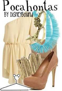 """""""Pocahontas"""" by lalakay ❤ liked on Polyvore"""