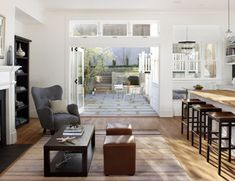 eco+historical Victorian Update - Contemporary - Living Room - san francisco - by Feldman Architecture, Inc.