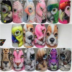 וואלה! דואר - דואר נכנס Animal Nail Designs, Animal Nail Art, Nail Art Designs Videos, 3d Nail Art, Nail Art Hacks, Nail Arts, Trendy Nails, Cute Nails, Vintage Nails