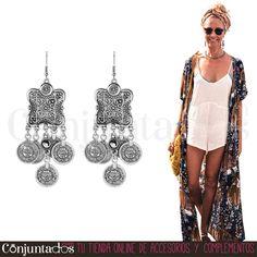 Descubre nuestra chulísima selección de #pendientes de #estilo #boho-chic ★ 11,95 € en https://www.conjuntados.com/es/pendientes/pendientes-largos/pendientes-naisha-de-estilo-etnico-con-monedas.html ★ #novedades #earrings #conjuntados #conjuntada #joyitas #lowcost #jewelry #bisutería #bijoux #accesorios #complementos #moda #fashion #fashionadicct #picoftheday #outfit #style #GustosParaTodas #ParaTodosLosGustos
