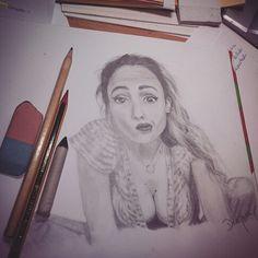 Realist portrait girl