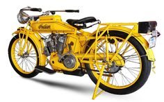 Hedstrom F-head, 1913 Indian 61 c.i. Twin