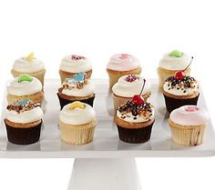 Not all of us are born to bake- Order this yummy summer cupcake assortment from Georgetown Cupcakes for your next party!