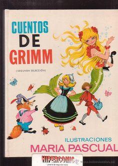 CUENTOS DE GRIMM Nº 5 / ILUSTRADO POR: MARIA PASCUAL - edita : TORAY 1971 (Libros de Lance - Literatura Infantil y Juvenil - Cuentos)