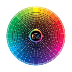 Color wheel for reference!