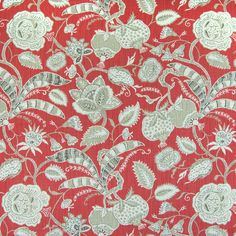 The G8383 Rose upholstery fabric by KOVI Fabrics features Floral pattern and Red as its colors. It is a Print, Cotton, Made in USA type of upholstery fabric and it is made of 100% Cotton material. It is rated Exceeds 15,000 double rubs (heavy duty) which makes this upholstery fabric ideal for residential, commercial and hospitality upholstery projects.