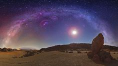 Milky Way - This is why our galaxy is called the Milky Way  This absolutely stunning image was taken in Spain's Canary Islands by astrophotographer Juan Carlos Casado.