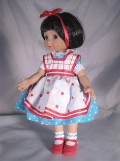 ©Mary Engelbreit Dottie Delight 2004 Robert Tonner DRESSED DOLL ME 0402 LE1000 Originally Sold For $89.99 or OUTFIT ONLY ME 8402 LE1000 Originally Sold For $29.99