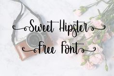 DLOLLEYS HELP: Sweet Hipster Free Font
