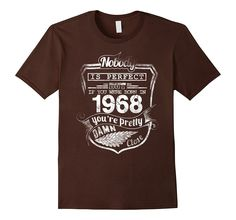 Born in 1968 T-shirt - Hot Trend Perfect Birthday Gift
