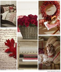 brown and red Make Your Own Collage, Beautiful Color Combinations, Romantic Homes, Colour Board, Coordinating Colors, Inspiration Boards, Something Beautiful, Autumn, Fall
