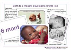 Birth to 6 months development time line