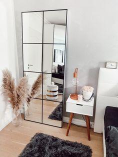 Ikea Mirror, Diy Mirror, Mirror Inspiration, Room Inspiration, Home Bedroom, Bedroom Decor, Bedrooms, Industrial Mirrors, Boho Room