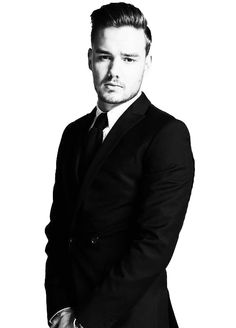 liam payne 2015 Black and White | Liam Payne PNG by ViviennePNGs