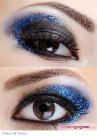 eye makeup idea...glitter!