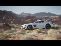 Mercedes-Benz SLS AMG Coupe Black Series official video - YouTube