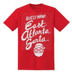Gucci Mane East Atlanta Santa T-SHIRT