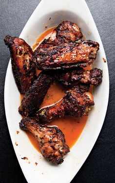 Smokestack's Chicken Wings Recipe