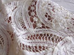 Edwardian Battenberg Lace Sleeves with Clergy by AnnaLeesAttic, $68.00